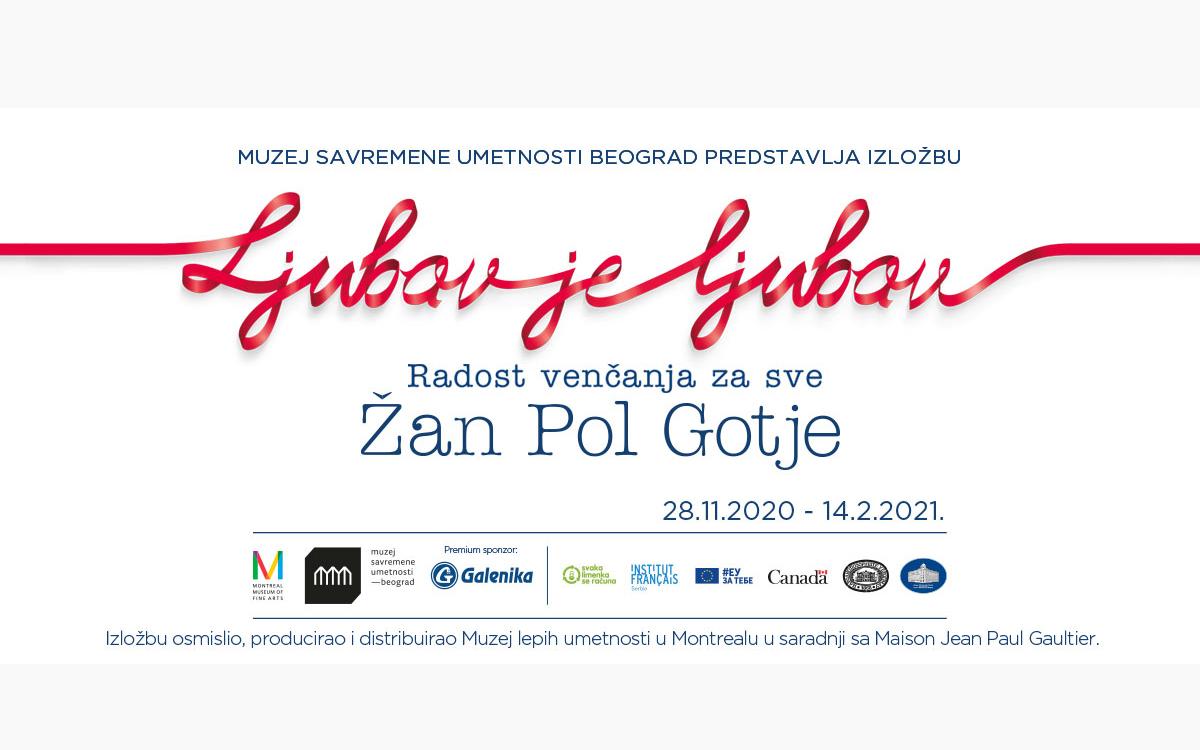 Evropska premijera izložbe Ljubav je ljubav: radost venčanja za sve Žan Pol Gotje
