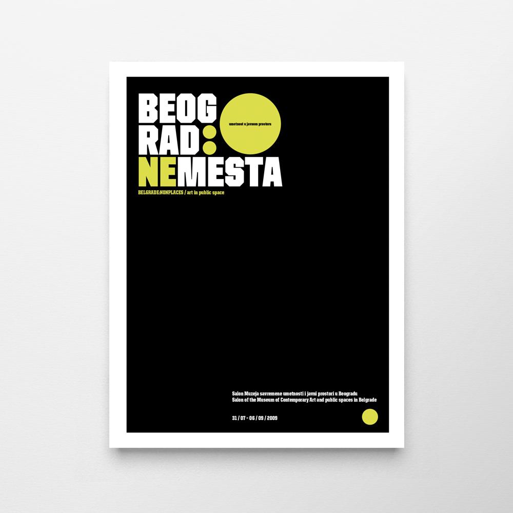 Beograd: Nemesta — Umetnost u javnom prostoru