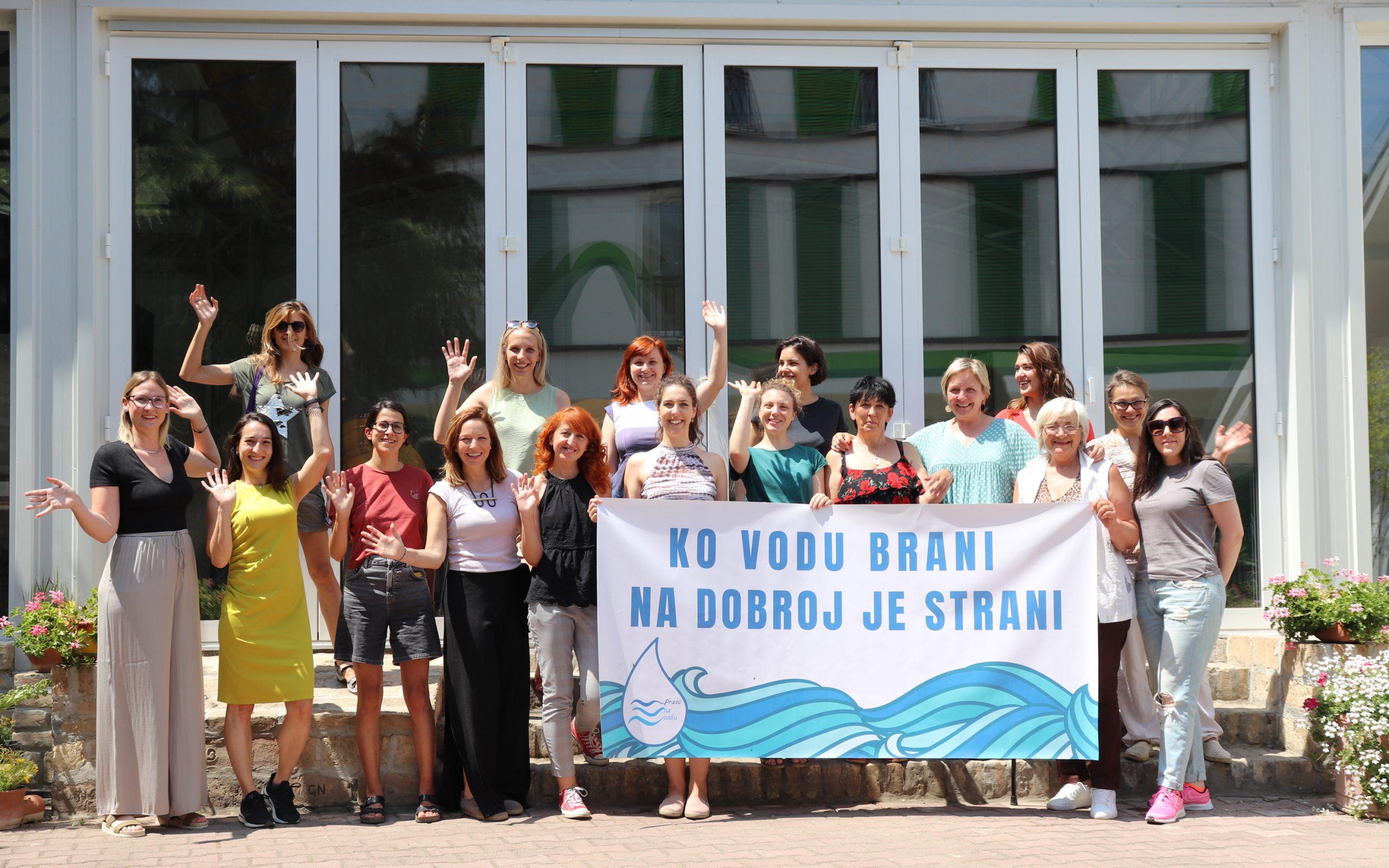 """Letnji ekološki forum: Inicijativa """"Pravo na vodu"""" – Pravo na vodu je pravo na život!"""